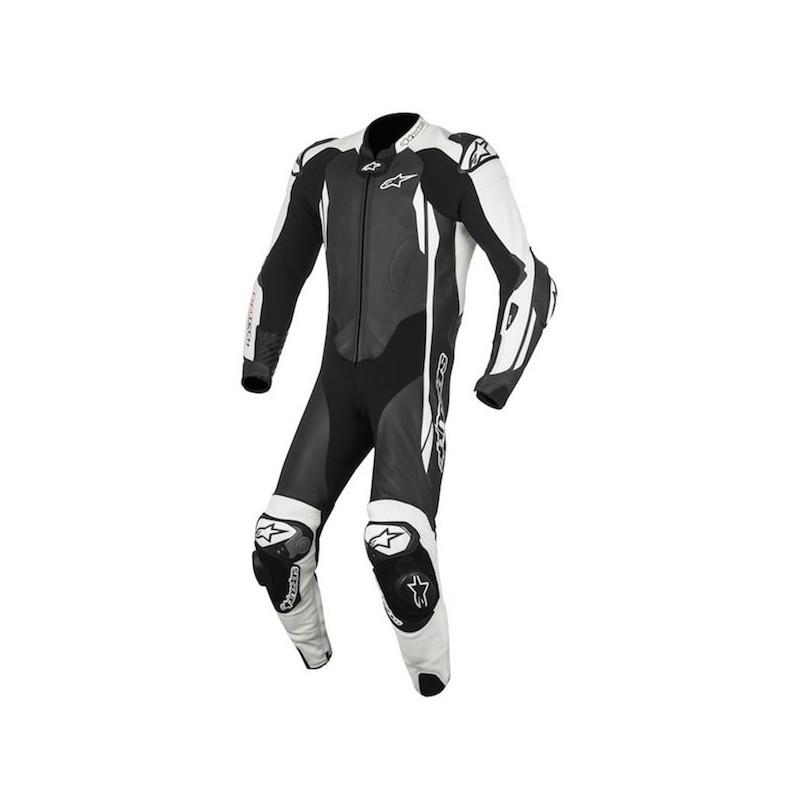 ALPINESTARS GP TECH v2 TECH-AIR LEATHER SUIT - BLACK WHITE