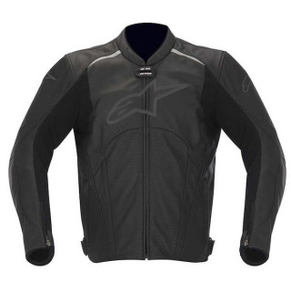 ALPINESTARS AVANT PERFORATED LEATHER JACKET - NERO