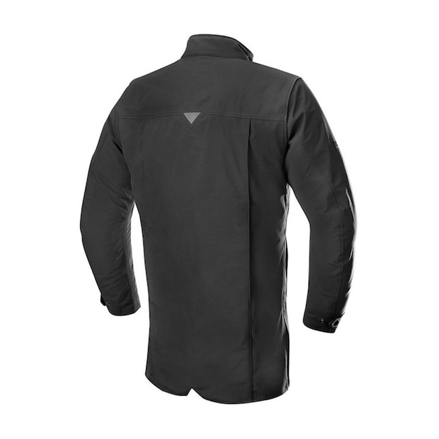 ALPINESTARS BRADFORD GORE-TEX TECH-AIR OVERCOAT BLACK - BACK