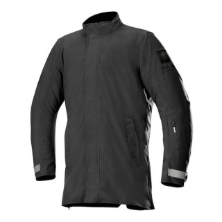 GIACCA ALPINESTARS BRADFORD GORE-TEX TECH-AIR OVERCOAT - BLACK