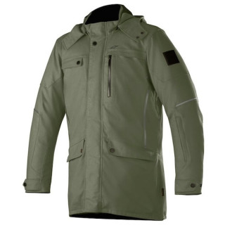 GIACCA ALPINESTARS GORDON DRYSTAR OVERCOAT - MILITARY GREEN