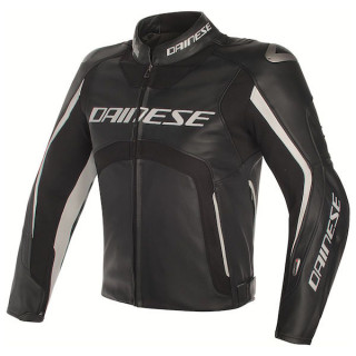 Dainese Misano D-Air Jacket Black-White