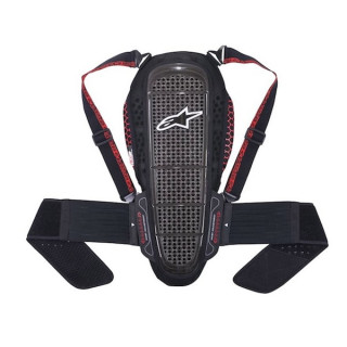 ALPINESTARS NUCLEON KR-1 PROTECTOR - BLACK SMOKE RED