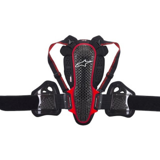 ALPINESTARS NUCLEON KR-3 PROTECTOR - SMOKE BLACK RED