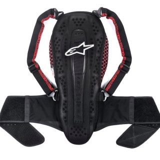 ALPINESTARS NUCLEON KR-2 PROTECTOR - BLACK SMOKE RED