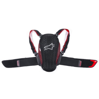 PARASCHIENA ALPINESTARS NUCLEON KR-Y YOUTH PROTECTOR - BLACK RED