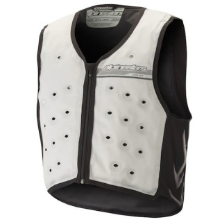 GILET ALPINESTARS COOLING VEST - LIGHT GRAY DARK GRAY
