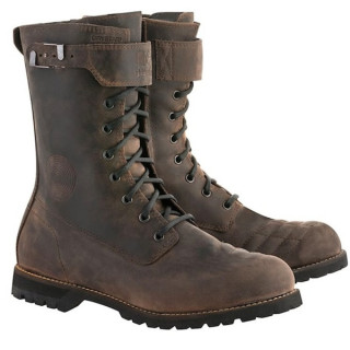 STIVALI ALPINESTARS FIRM DRYSTAR BOOT - DARK BROWN OILED