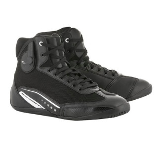 ALPINESTARS STELLA AST-1 SHOE - BLACK WHITE