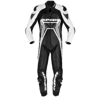TUTA SPIDI WARRIOR 2 WIND PRO - NERO BIANCO