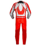TUTA SPIDI TRACK WIND REPLICA RED WHITE - SCHIENA