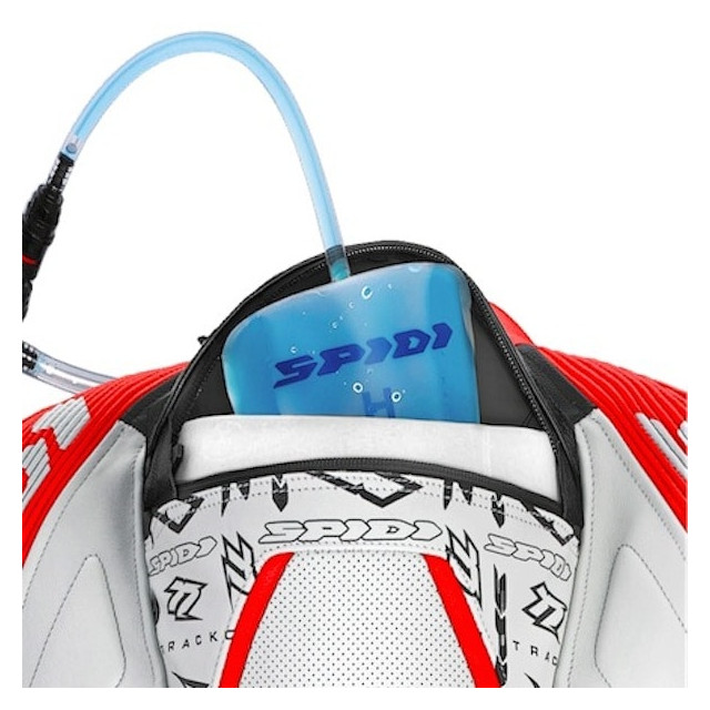 TUTA SPIDI TRACK WIND REPLICA RED WHITE - HYDROBACK BAG