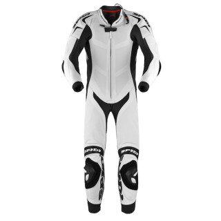 SPIDI REPLICA PILOTI WIND PRO LEATHER SUIT LONG - WHITE