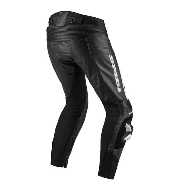 PANTALONI SPIDI RR PRO WIND PANTS NERO BIANCO - RETRO
