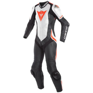TUTA DAINESE LAGUNA SECA 4 1PC PERF LADY - Black-White-Red