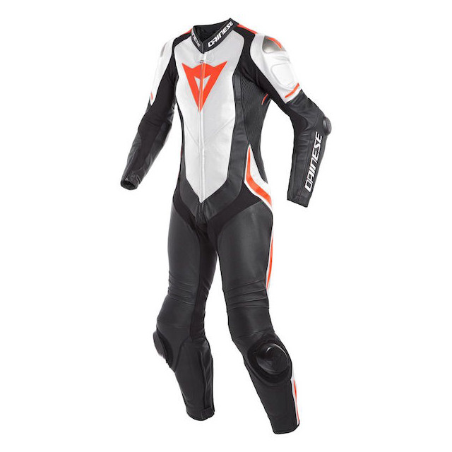 DAINESE LAGUNA SECA 4 1PC PERF LADY - Black-White-Red