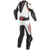 DAINESE LAGUNA SECA 4 1PC PERF LADY - Black-White-Red - BACK