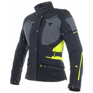 GIACCA DAINESE CARVE MASTER 2 LADY GORE-TEX - Black-Ebony-Fluo Yellow