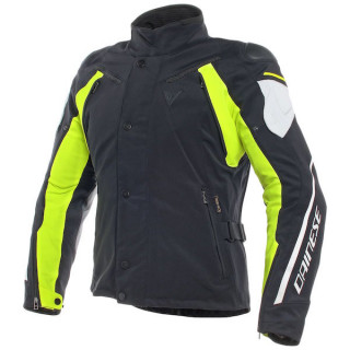 GIACCA DAINESE RAIN MASTER D-DRY - BLACK GLACIER GRAY FLUO