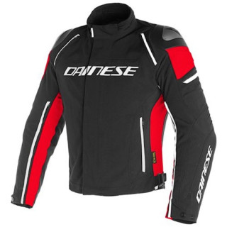 DAINESE RACING 3 D-DRY JACKET - Black-Red