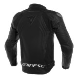 GIACCA DAINESE RACING 3 LEATHER JACKET BLACK - RETRO