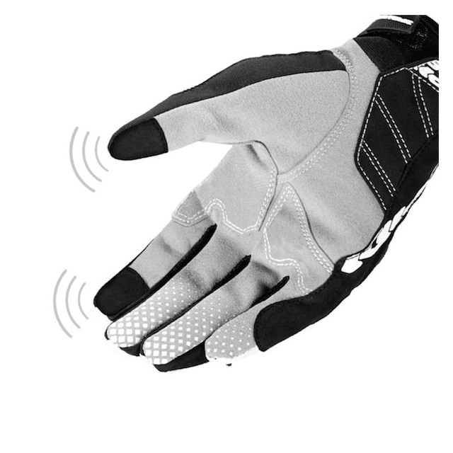 SPIDI WAKE EVO GLOVES BLACK GRAY - TOUCH