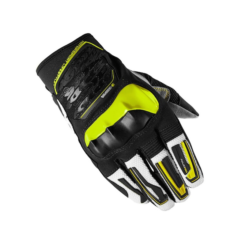SPIDI WAKE EVO GLOVES - BLACK FLUO YELLOW