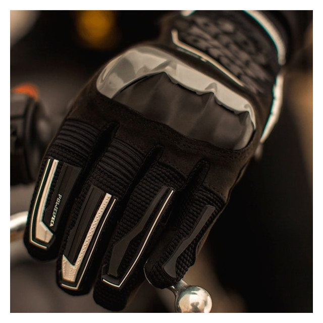 SPIDI WAKE EVO GLOVES BLACK GRAY - DETAIL