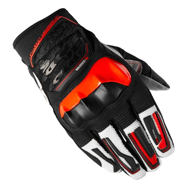 SPIDI WAKE EVO GLOVES - BLACK RED