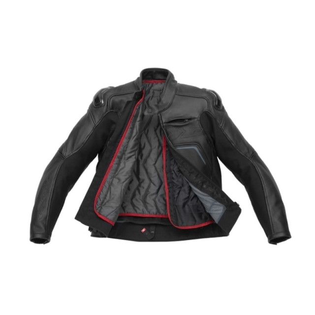 GIACCA SPIDI CARBO RIDER CE BLACK - INSIDE