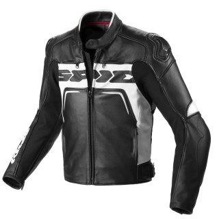 GIACCA SPIDI CARBO RIDER CE - BLACK WHITE