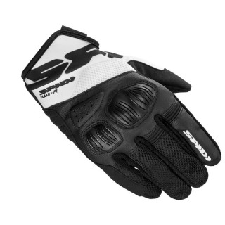 SPIDI FLASH-R EVO GLOVES - BLACK WHITE