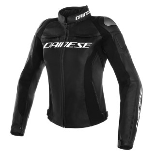 DAINESE RACING 3 LADY LEATHER JACKET - Black