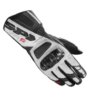 SPIDI STR-5 GLOVES - BLACK WHITE