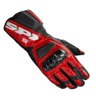 SPIDI STR-5 GLOVES - BLACK RED