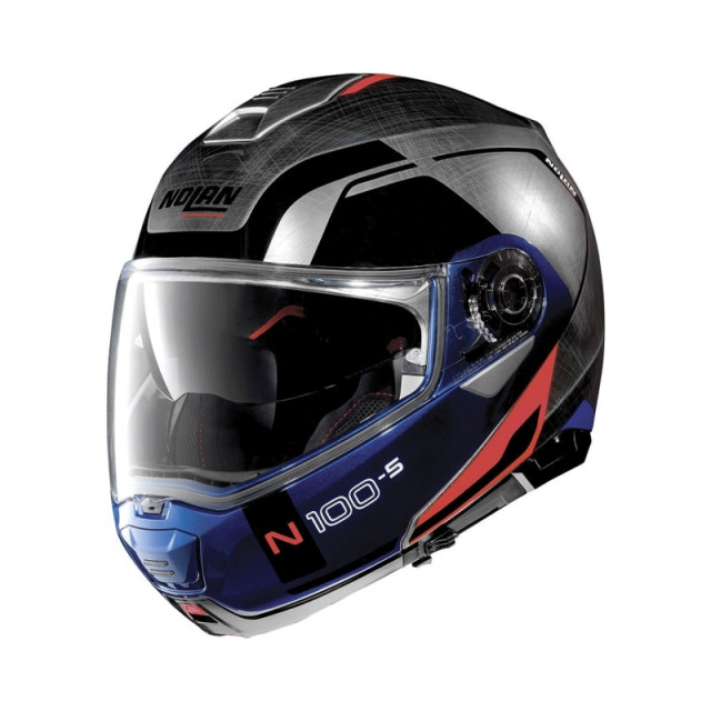 nolan n100 5 consistency scratched helmet burnoutmotor. Black Bedroom Furniture Sets. Home Design Ideas