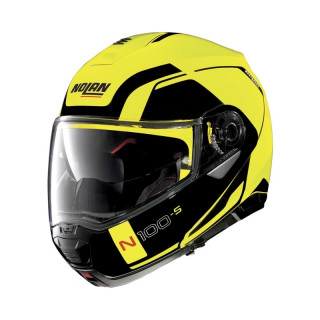 N100.5 CONSISTENCY 2 N-COM HELMET - YELLOW