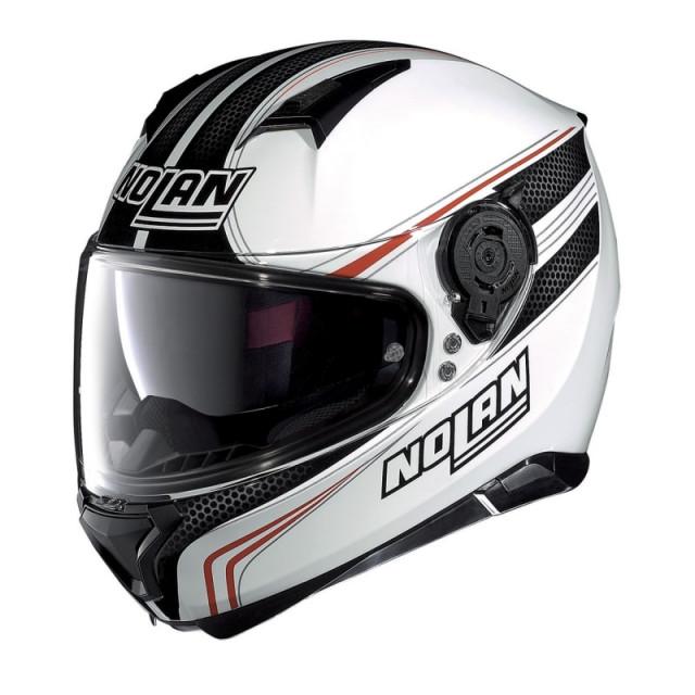NOLAN N87 RAPID N-COM - WHITE