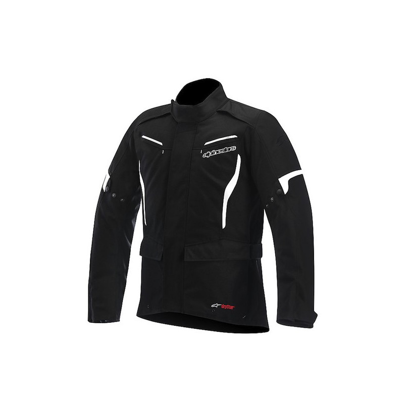 ALPINESTARS CORDOBA DRYSTAR JACKET - BLACK WHITE