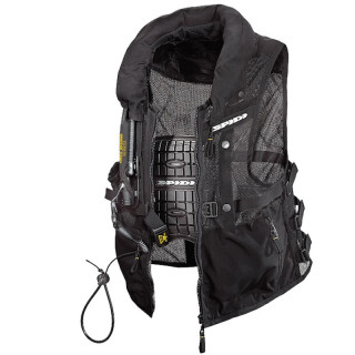 SPIDI NECK DPS VEST AIRBAG - BLACK
