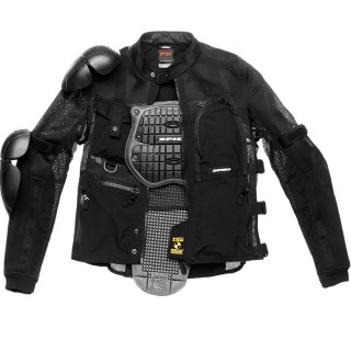 SPIDI MULTITECH ARMOR EVO JACKET - BLACK