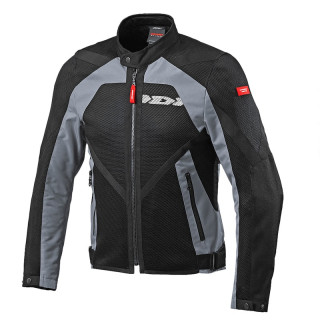 SPIDI NETSTREAM JACKET - BLACK GRAY