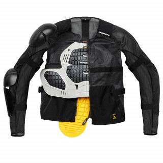 SPIDI AIRTECH ARMOR JACKET - BLACK