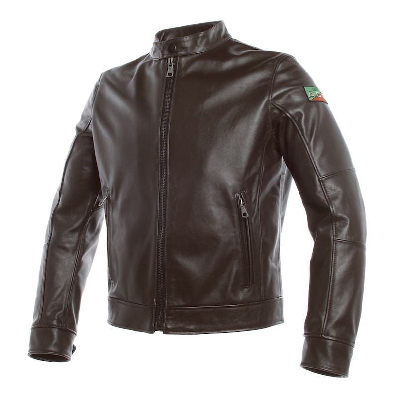 GIACCA DAINESE AGV 1947 LEATHER JACKET
