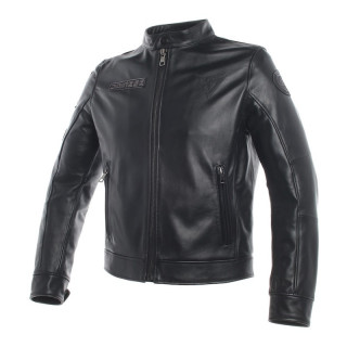 GIACCA DAINESE LEGACY LEATHER JACKET