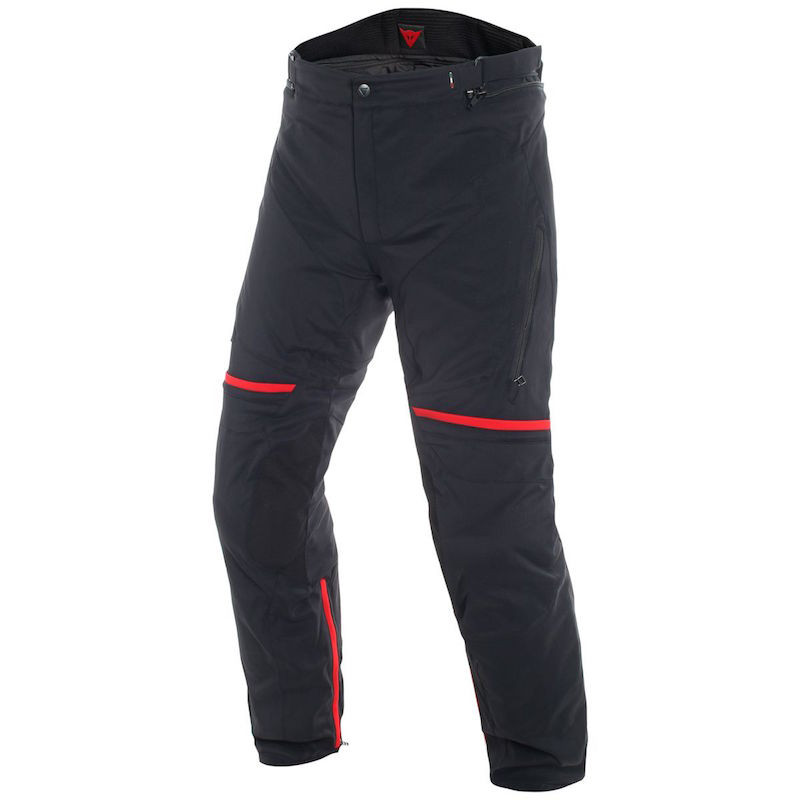 DAINESE CARVE MASTER 2 GORE-TEX PANTS - Black-Red