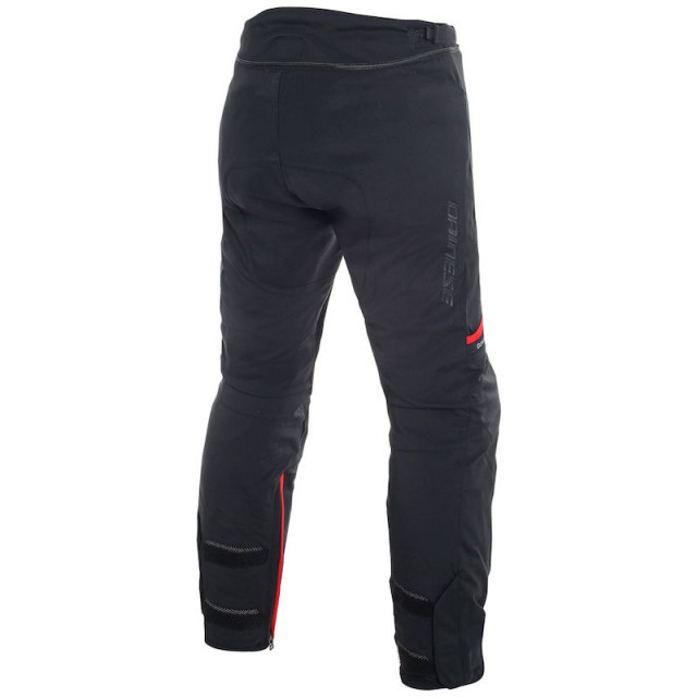 DAINESE CARVE MASTER 2 GORE-TEX PANTS - Black-Red - BACK