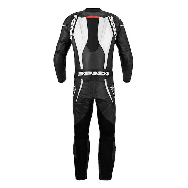 SPIDI SUPERSPORT WIND PRO BLACK WHITE - BACK