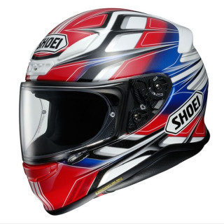 SHOEI NXR RUMPUS - RED WHITE BLUE