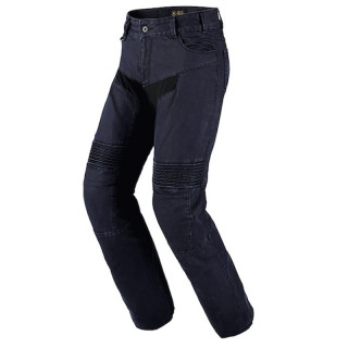 SPIDI FURIOUS EVO JEANS - BLACK LEATHER